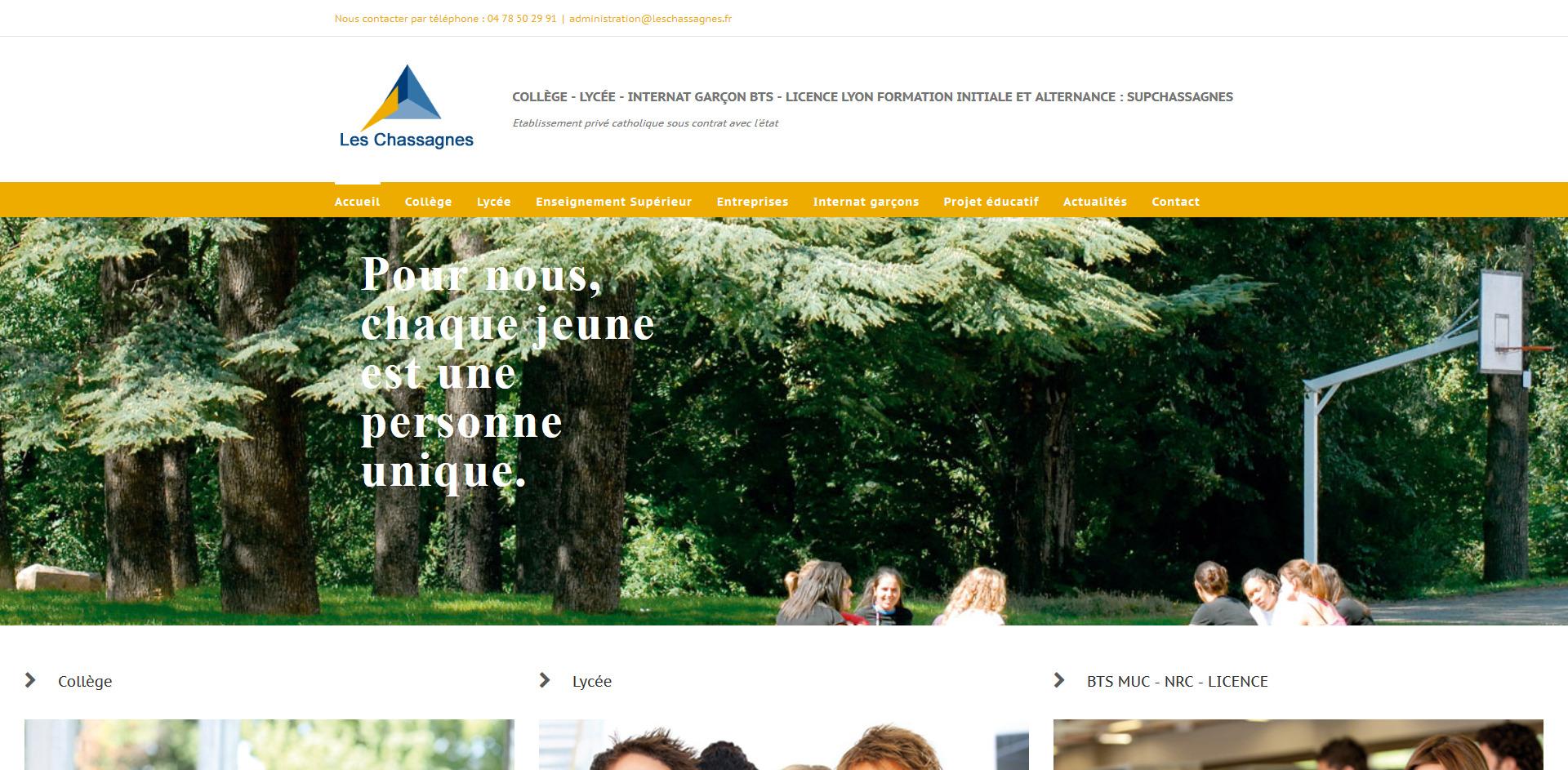 les chassagnes, oullins , leasy concept, louer mon site, location de site, vente de site internet, site web, lyon, rhone alpes, creation de site internet