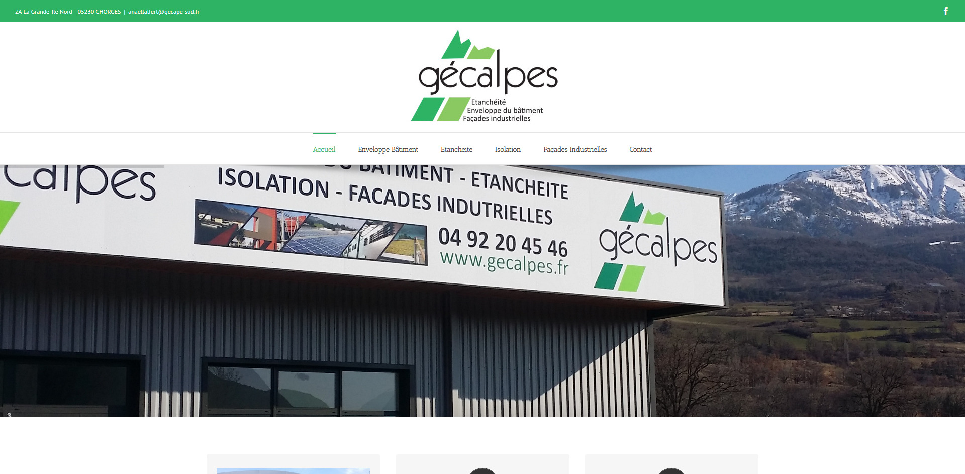 gecalpe, gecape sud, chorges , leasy concept, louer mon site, location de site, vente de site internet, site web, lyon, rhone alpes, creation de site internet