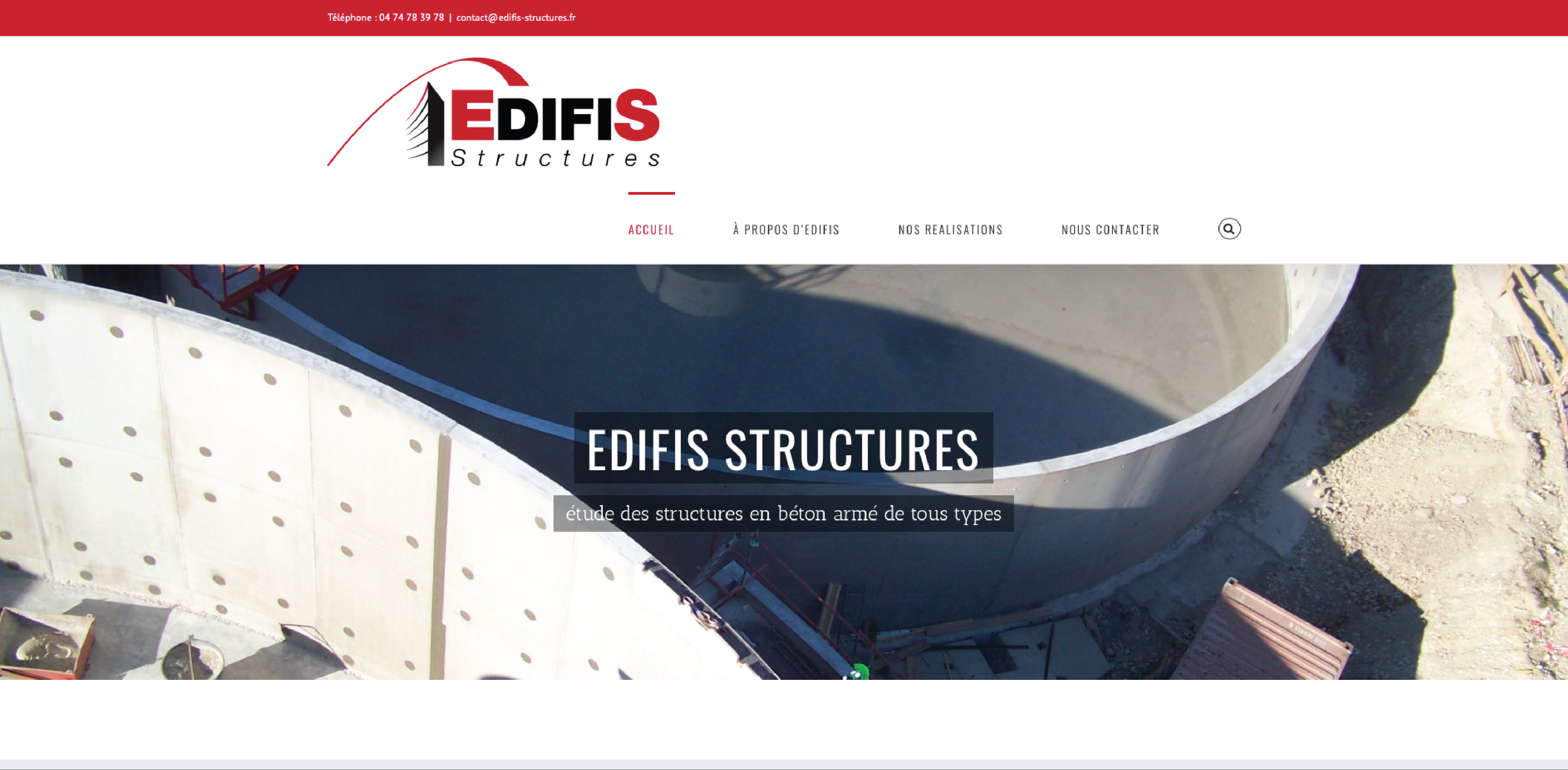 edifis structure_leasy concept, louer mon site, location de site, vente de site internet, site web, lyon, rhone alpes, creation de site internet