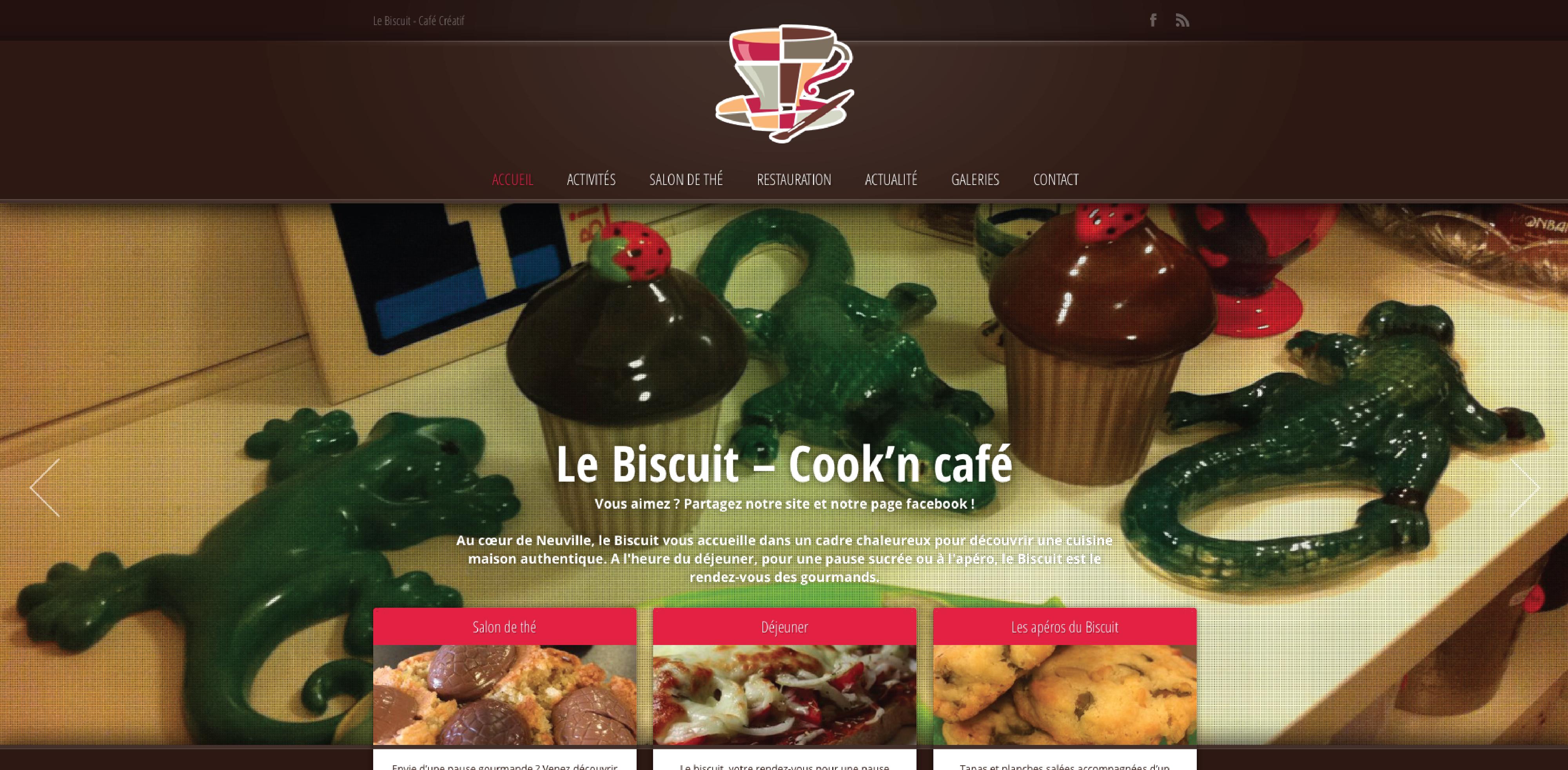 le Biscuit Café Créatif_leasy concept, louer mon site, location de site, vente de site internet, site web, lyon, rhone alpes, creation de site internet